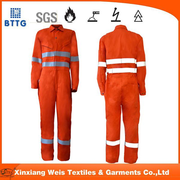 FR AS cotton coverall safety workwear