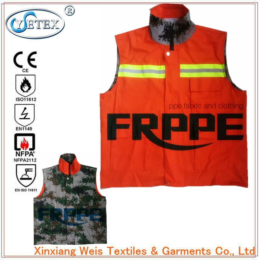 Double-Sided Flame Retardant Vest