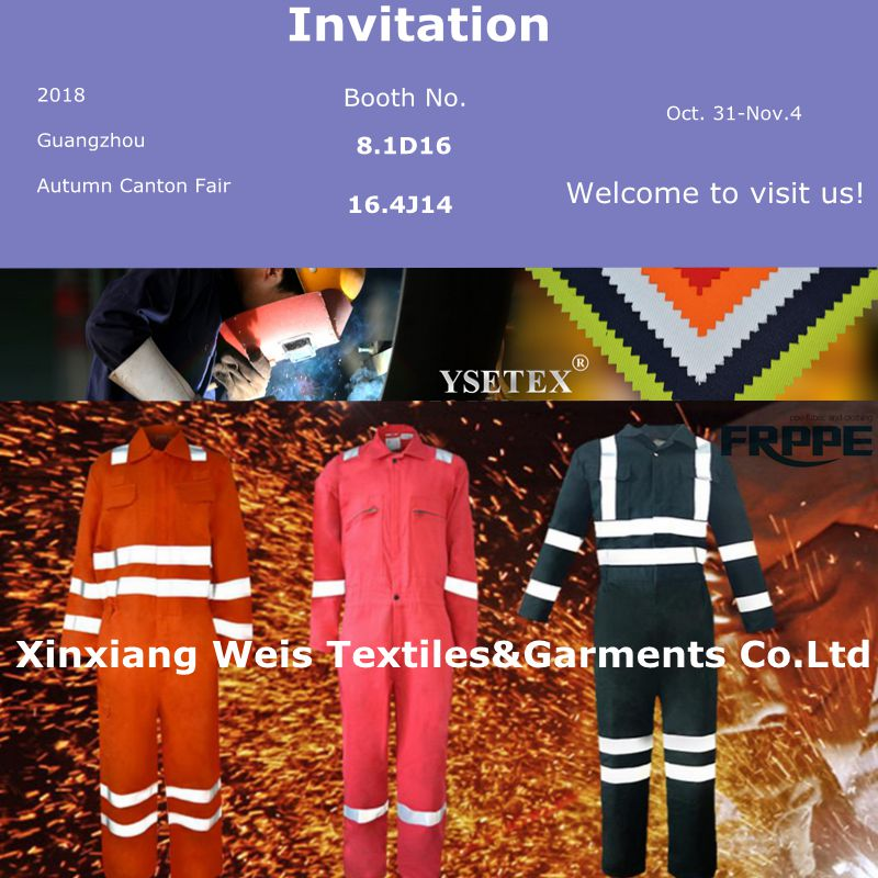 Xinxiang Ysetex Meets You At 124th Canton Fair