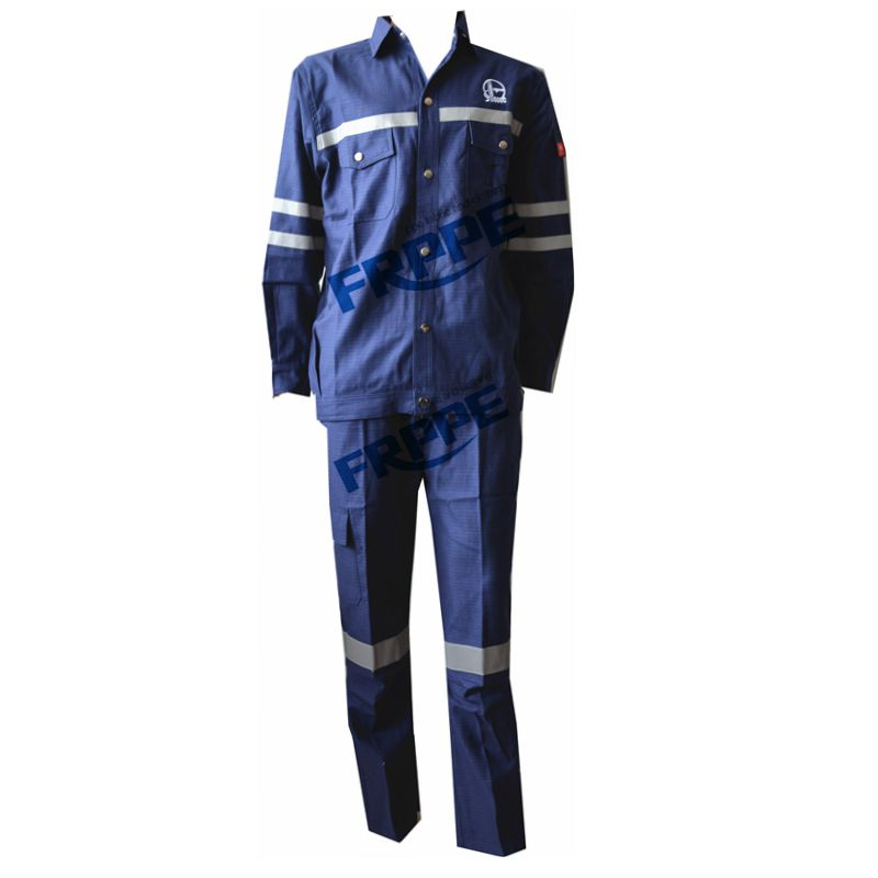 100% cotton fire resistant anti-static jacket&pants
