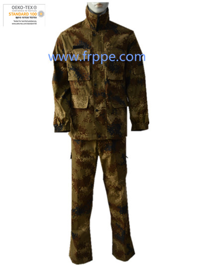 Flame Retardant Unifrom Camouflage