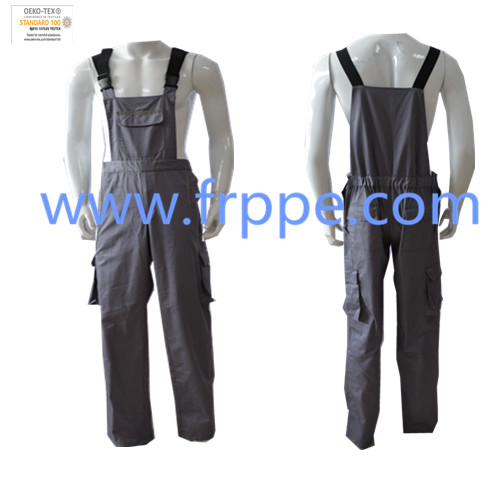 polyester-mixed cotton cloth Dungarees