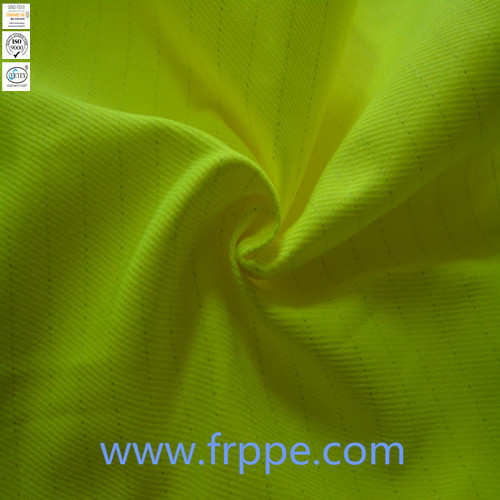 300GSM FR High Visibility Cotton Polyester CVC Fabric