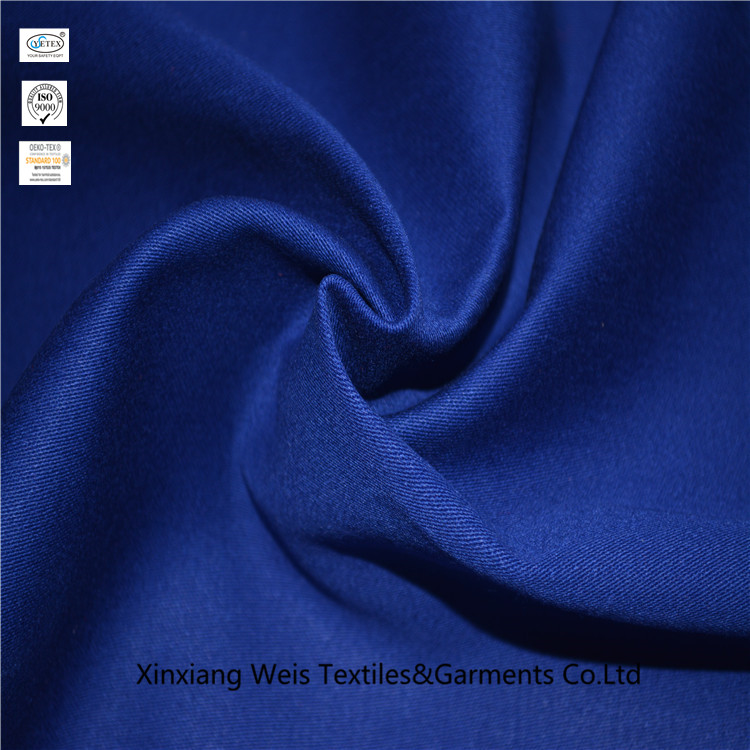 Safety Cotton Flame Retardant Textiles Soft Electric Arc Flash Protective