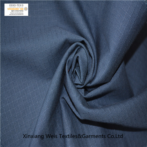 We have navy blue dyed 100% cotton ripstop fabrics on sale