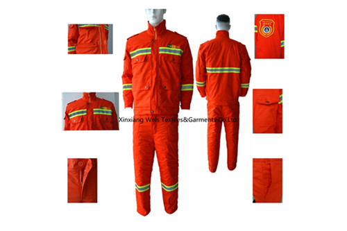 we have launched cotton flame retardant winters workwears